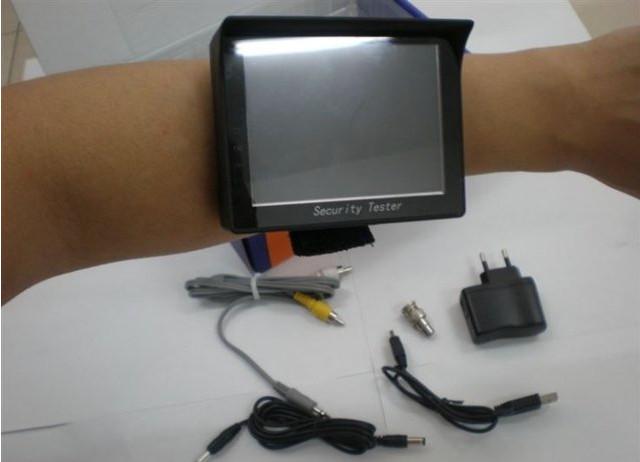 Тестер видеосигнала с выходом питания 12В.